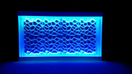 LED Web façade for bars and DJ booths