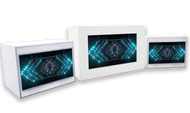 Video Acrylic Surround and TWO Video Pedestals