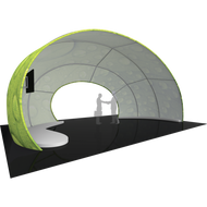 FORMULATE 30FT ARCH 04 TENSION FABRIC STRUCTURE