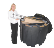 OCT Large Round Heavy Duty Freight Case