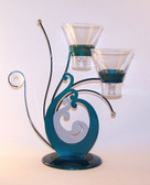 Breakers Candle Holder Double