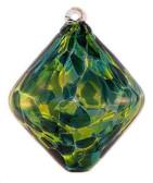 Jade Green Rhombus
