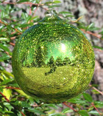 Lime Mirrored Crackle