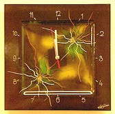 Autumn Lilly Clock