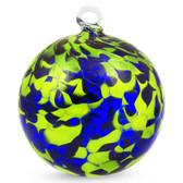 Bright Green / Cobalt Blue 4 Inch