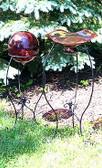 Victorian Gazing Ball Stands (3 pc set)