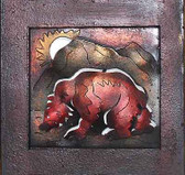 Mountain Bear Framed