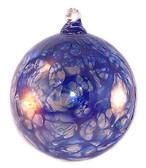 Cobalt Blue Web Design Iridized  2.5 Inch