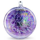 Sun Disk  Lavender / Purple Iridized