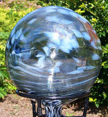 Garden Gazing Ball 'Winter""