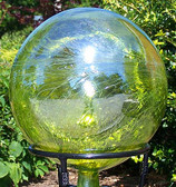 "Garden Gazing Ball ""Lemon Yellow"""