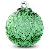 Diamond Optic Friendship Ball, Moss Green (4 inch)