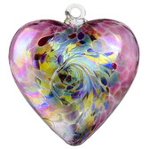 Galaxy Heart Fuchsia Red