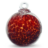 Garnet Red Crackle