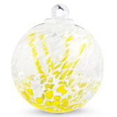 "Veiled Witch Ball ""Canary Yellow"""
