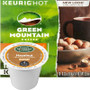 Green Mountain Hazelnut DECAF Coffee K-Cup® Pod. Compatible with most single cup brewers including Keurig & Keurig 2.0.