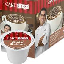 Cake Boss Hazelnut Mochaccino Single Cup. Compatible with all single serve brewers, including Keurig® and Keurig® 2.0.