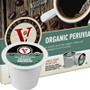 Victor Allen's Coffee Organic Peruvian Coffee Single Cup. Compatible with all single serve brewers, including Keurig® and Keurig® 2.0.