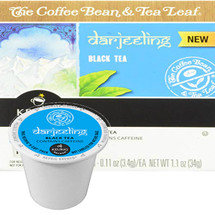 The Coffee Bean & Tea Leaf Darjeeling Black Tea Single Cup. Our Darjeeling Black tea is grown in the West Bengal state of India at 6,500 feet above sea level. Hand-plucked, taking only the top two leaves and a bud, this medium-bodied tea has a smooth, bold flavor with floral notes. Compatible with most single cup brewers including Keurig and Keurig 2.0.