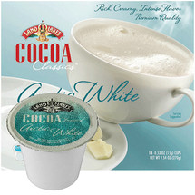 Land O Lakes Arctic White Hot Cocoa Mix Single Cup. A luscious cup of hot cocoa can be comforting and good for the soul. Made from dutch-processed cocoa for smooth flavor and nonfat milk for a creamy froth. Compatible with most single cup brewers including Keurig and Keurig 2.0.