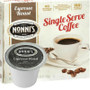 Nonni's Espresso Roast Coffee Single Cup. Compatible with most single cup brewers including Keurig and Keurig 2.0.