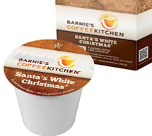 Santa's White Christmas®, first introduced as a holiday coffee in 1995; quickly became a year-round best seller.  Flavored with coconut, nuts, sweet caramel and vanilla, it remains unforgettable.