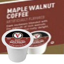 Victor Allen's Coffee Maple Walnut Coffee Single Cup. Rich maple syrup blended with the warmth of rich walnuts for a sweet and nutty delight. Compatible with most single cup brewers including Keurig and Keurig 2.0.