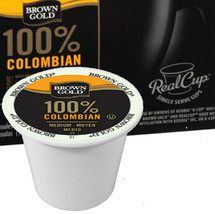 Brown Gold 100% Colombian Coffee A full-bodied roast with hints of caramel and vanilla that exerts a bold finish. Rich, smooth and aromatic. With tastes of honey, flowers, green grape,  Brown Gold 100% Colombian Coffee  and baker's chocolate.