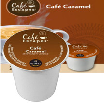 Cafe Escapes Cafe Caramel Coffee K-Cup Buttery rich. Silky smooth. Captivatingly caramelly