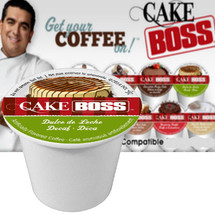 Cake Boss Dulce De Leche Decaf Coffee Single Cup