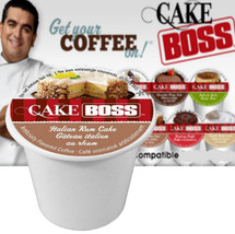 Inspired by TLC's hit series Cake Boss. An irresistible flavored coffee inspired by the buttery sweetness and smooth rum syrup of Buddy's signature sponge cake.