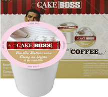 Inspired by TLC's hit series Cake Boss. Flavors of buttercream frosting and delicate vanilla come to life in this smooth flavored coffee. So go ahead, Get Frosted!