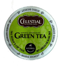 Celestial Seasonings® traditional green tea blended with white tea for fresh flavor and a smooth finish.