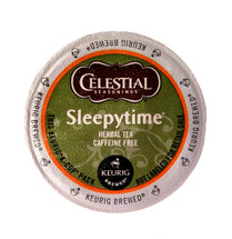 The comforting blend of chamomile and spearmint create a lullaby of tender flavor to soothe your senses. This 100% natural, gentle cup of hot tea lets you curl up under a quilt of flavor and quiet the tensions of your world. The part of your day shared with Sleepytime is like coming home to find a friend waiting for you by the fire. There's no calm like the sigh from the spirit when you take this moment for rest and reflection, there's no time like Sleepytime.