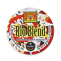 Diedrich Rio Blend Coffee K-Cup®  A smooth, creamy body gets a bit of South American spiciness in this warm, hearty blend. A nicely balanced cup with hints of raisin and cocoa.