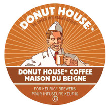 Donut House Collection Donut House  Coffee K-Cup® Familiar from the first sip. The easy-going, bold, dependable cup you enjoy every day.