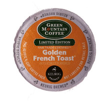 Flavors of buttered French Toast with a touch of cinnamon, drizzled with sweet maple syrup.