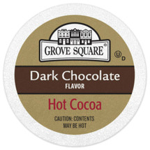Square Cocoa, it's never been more delicious or easier to prepare. Our dark and milk chocolate flavored varieties have all the creamy, chocolaty richness that make cocoa a classic favorite! The warmth and comfort that each sip offers makes this the perfect treat to enjoy any time of day, whether you are sharing it with someone special or savoring the rich flavor on your own Go ahead, enjoy a cup and don't forget the marshmallows Enjoy the rich, smooth sensation of dark chocolate with a steaming cup of Grove Square Dark Chocolate Cocoa