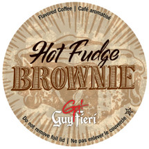 Guy's chocolate on chocolate Hot Fudge Brownie coffee comes to you straight from Flavortown!