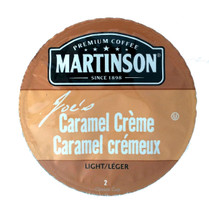 Martinson Caramel Creme Coffee Single Cup