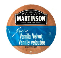 Enjoy Vanilla Velvet flavored coffee, with its velvety smooth vanilla flavor and lovely aroma.