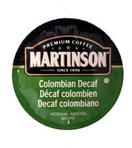 Martinson is now here in a new RealCup offering a selection of single-serve coffees in a variety of high quality blends. The rich, satisfying flavor and smooth winey finish of Colombian, and decaffeinated.