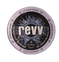 A straight shot of stimulation. Raw energy in its purest form. revv packs more rich, smooth coffee into every K-Cup, so you can super-charge your day, without extra sugar or calories. Take a bold move forward. Launch into life with revv. More Coffee. More Kick.