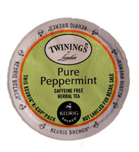 This naturally caffeine-free herbal tea is made with 100% pure peppermint leaves. It's an uplifting and refreshing herbal tea.