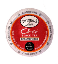 Decaf black tea expertly blended with the sweet and savory spice flavors of cinnamon, cardamom, cloves and ginger to deliver a flavorful tea with a warm, soothing aroma and fresh, spicy taste.