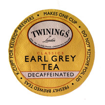 A light & aromatic blend of fine black tea, scented with bergamot, a citrus fruit. Decaffeinated, naturally.