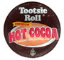 As America's favorite chewy chocolate candy, the Tootsie Roll has remained unchanged since it was first introduced in New York City in 1896. Now, we've brought you another way to enjoy the perfectly balanced cocoa taste, lined with subtle fruit-flavored undertones - one hot and delicious cup at a time.   INGREDIENTS:  PURE CANE SUGAR, NON DAIRY CREAMER (CORN SYRUP SOLIDS, HYDROGENATED COCONUT OIL, SODIUM CASEINATE ( A MILK DERIVATIVE), DIPOTASSIUM PHOSPHATE, MONO-AND DIGLYCERIDES, SALT, SODIUM CITRATE, SODIUM SILICOALUMINATE, SOY LECITHIN, ARTIFICIAL FLAVORS, ARTIFICIAL COLORS). MALTODEXTRIN, COCOA AND ARTIFICIAL FLAVORS, SALT SILICONE DIOXIDE.   CONTAINS MILK.  MANUFACTURED IN A PLANT THAT PROCESSES SOY.