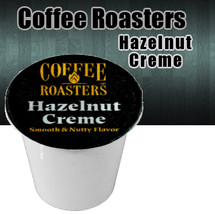 Coffee Roasters Hazelnut Creme Coffee Single Cup Smooth and Nutty Flavor