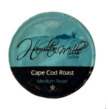 Hamilton Mills Cape Cod Coffee Single Cup. Hint of caramel flavor. Compatible with all single serve brewers, including Keurig® not Keurig® 2.0.