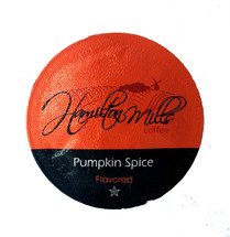 Hamilton Mills Pumpkin Spice Coffee Single Cup. Pumpkin and spice, everything nice! Compatible with all single serve brewers, including Keurig® not Keurig® 2.0.
